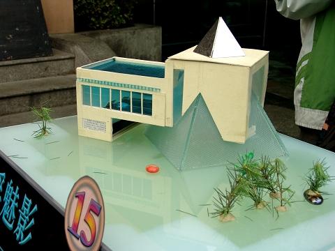 建筑与艺术分院举办学生建筑模型作品展